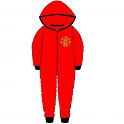 Children's Manchester United FC Fleece Onesie