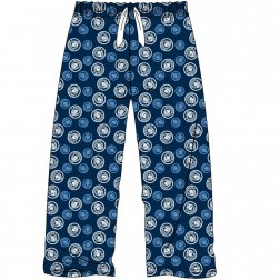 Mens Manchester City Lounge Pants - Blue