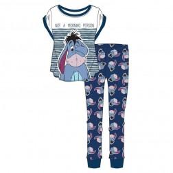 Ladies Disney Eeyore 'Not A Morning Person' Pyjama Set