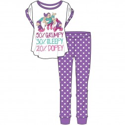 Ladies 50% Grumpy Pyjama Set