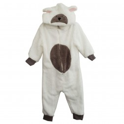 Animal Crazy Lamb Costume Onesie