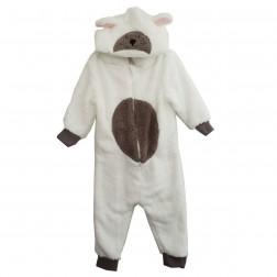 Animal Crazy Lamb Costume Onesie