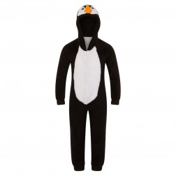 Nifty Kids Penguin Fleece Onesie