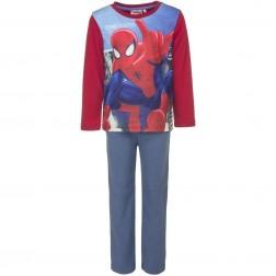Spiderman 'Crime Fighter' Polar Fleece Pyjamas - Red
