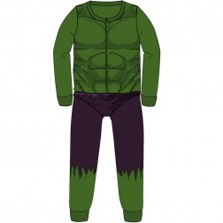 Hulk Costume Fleece Onesie