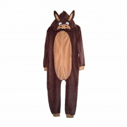 Jim Jams Donkey Costume Fleece Onesie