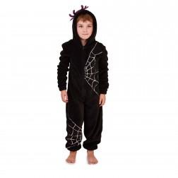 Nifty Kids Spider Web Fleece Onesie