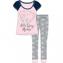 Ladies Me To You Let's Stay Home Pyjama Set