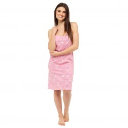 Ladies Chemise - Pink Heart