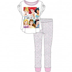 Ladies Disney Princess Pyjama Set