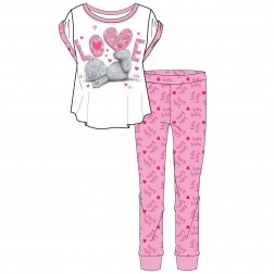 Ladies Tatty Teddy Love Pyjama Set