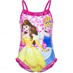 Girls Disney Princess Pink Swimsuit