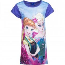 Girls Frozen Elsa/Anna Sketch Nightie - Lilac