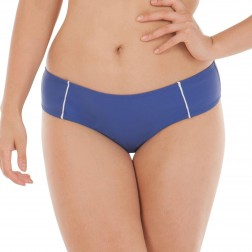 Curvy Kate Sail Away Cheeky Short - Blue/White