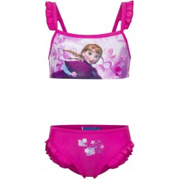 Girls Disney Frozen Anna Pink Bikini Set