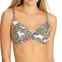 Freya New Wave Plunge Bikini Top - Multi