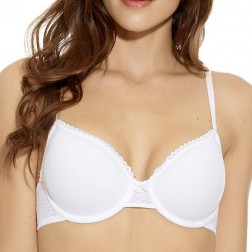 B.Tempt'd B.Awesome Contour Bra - White