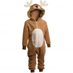 Animal Crazy Reindeer Costume Onesie