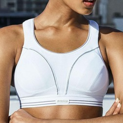 Shock Absorber Ultimate Run Sports Bra - White/Silver