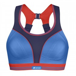 Shock Absorber Ultimate Run Sports Bra - Blue/Multi
