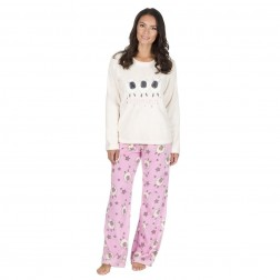 Forever Dreaming Luxury Fleece Sheep Pyjama Set - Cream