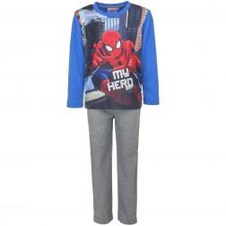 Spiderman 'My Hero' Polar Fleece Pyjamas - Blue