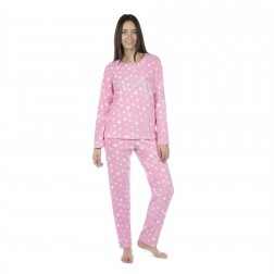Selena Secrets Ladies 'Sleep Under The Stars' Pyjamas - Pink