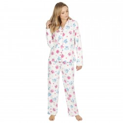 Forever Dreaming Fleece Owl Pyjama Set - Cream