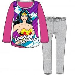 Children's Wonder Woman DC Comics Pyjamas - Multi/Grey
