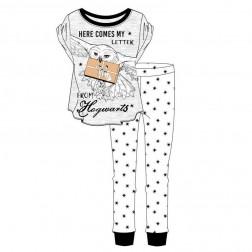 Ladies Harry Potter Hogwarts Pyjama Set