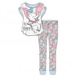 Ladies Disney Dumbo 'Be Happy' Pyjama Set