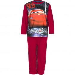 Disney Cars Lightning McQueen Polar Fleece Pyjamas - Red