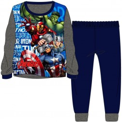 Children's Marvel Avengers Pyjamas - Grey/Navy