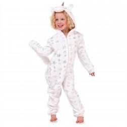 Nifty Kids Star Print Unicorn Fleece Onesie