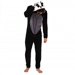 Loungeable Mens Badger Onesie