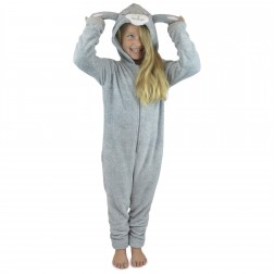 Foxbury Kids Lamb Onesie - Grey