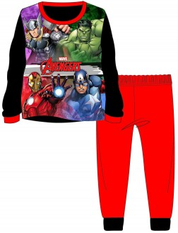 Boys Avengers Pyjamas - Black/Red
