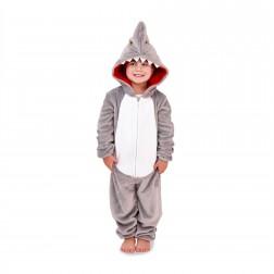 Nifty Kids Shark Fleece Onesie
