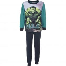 Marvel Avengers Hulk Polar Fleece Pyjamas - Green