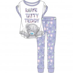Ladies Love Taddy Teddy Pyjama Set