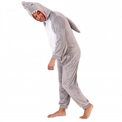Loungeable Mens Shark Onesie