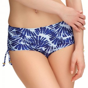 Fantasie Swimwear Lanai Adjustable Leg Bikini Short/Bottoms - Nightshade