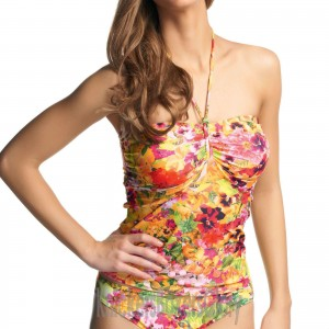 Freya Copacabana Bandeau Tankini Top - Fruit Salad