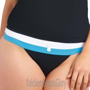Freya Revival Rio Wide Tab Bikini Brief - Black