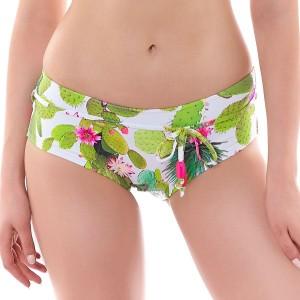Freya Cactus Bikini Shorts - Lime Fizz