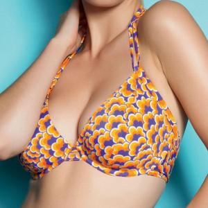 Freya Boogie Bandless Triangle Bikini Top - Firefly