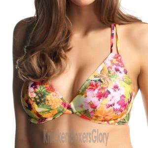 Freya Copacabana Bandless Halter Bikini Top - Fruit Salad