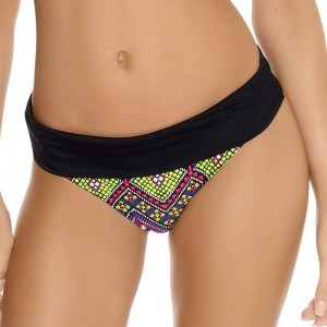 Freya Byzantine Classic Fold Bikini Brief - Neon