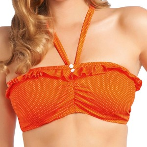 Freya Swimwear Cherish Bandeau Bikini Top - Orange