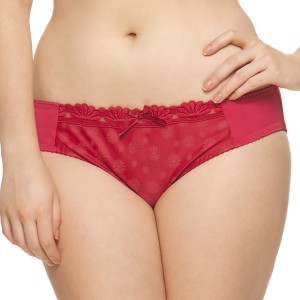 Curvy Kate Daisie Brief - Ruby Print